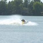 Jet Skiing on the Chain of Lakes