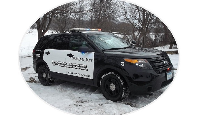 Fairmont Police Vehicle
